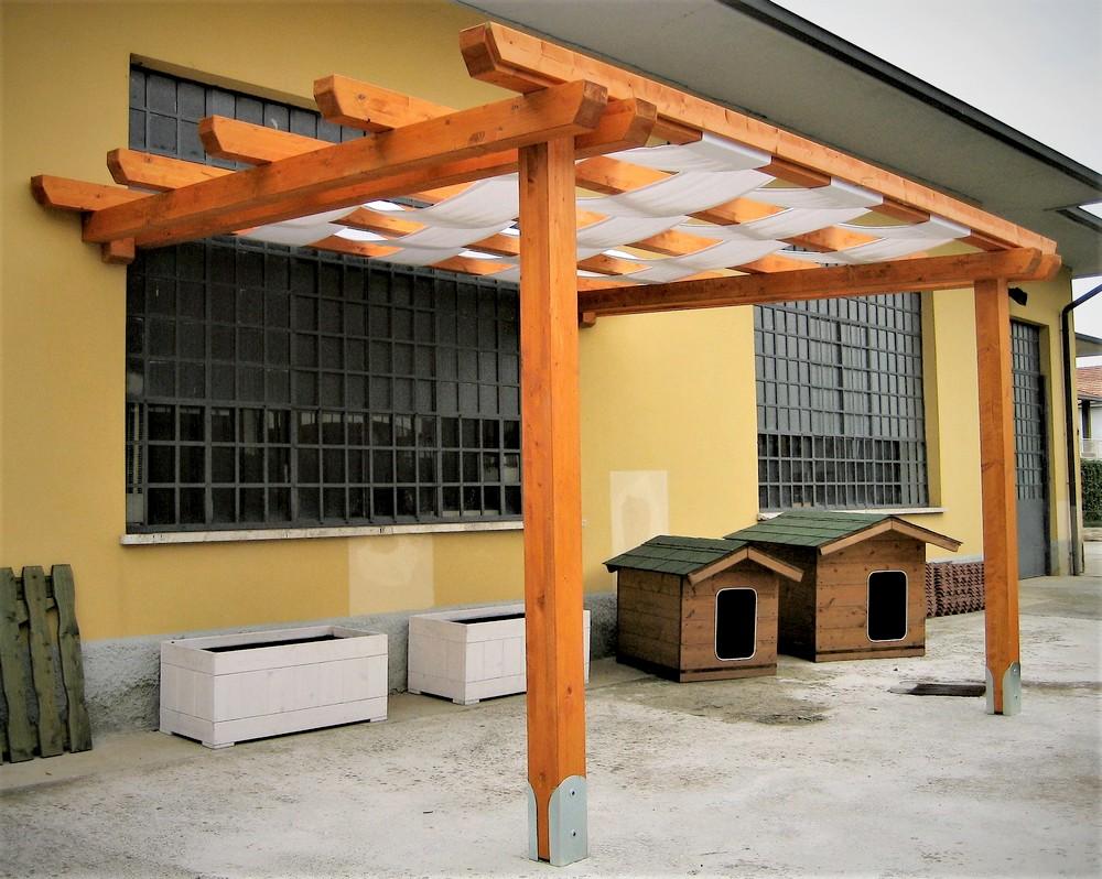 Popolare Pergole e Pergolati in legno – ArteCasaService.it – Artigiani  RB75