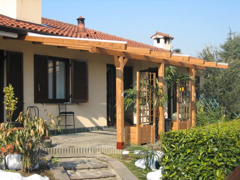 Pergole e pergolati in legno for Disegni e prezzi della casa
