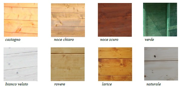 Tettoie in legno falda singola e doppia artecasaservice - Colori mobili legno ...