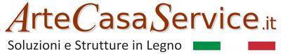 ArteCasaService.it - Artigiani della Brianza, soluzioni e strutture in legno per esterni e giardini, Monza e Brianza, Milano, Como, Lecco e Varese. Logo