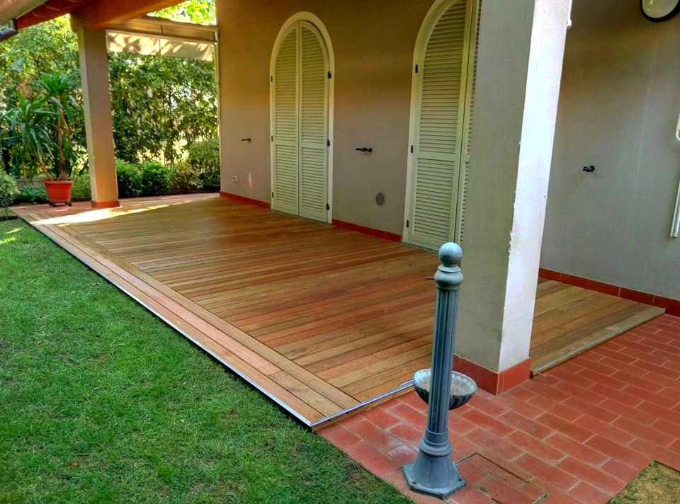 Pavimentazioni in legno per esterni for Soluzioni per esterni