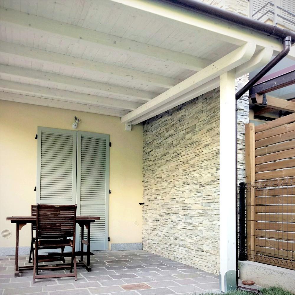 Veranda In Legno Terrazzo tettoie in legno falda singola e doppia   artecasaservice.it